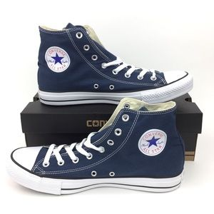 NEW Converse Chuck Taylor Hi Navy Blue Shoes 11.5